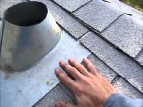install  roof vent flashing   furnace chimney