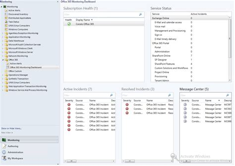 Office 365 Portal Manual by Office 365 Scom Management Pack Scom Self Service Portal