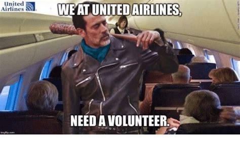 Volunteer Meme - united airlines ingflip com we at united airlines need a volunteer funny meme on me me
