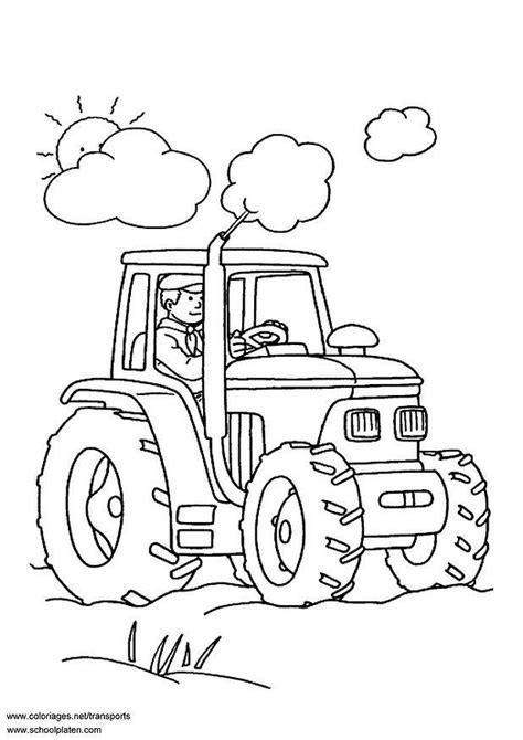 Afbeelding Tractor Kleurplaat by Kleurplaat Tractor Afb 3097