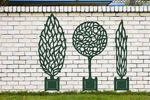 treillage galerie photos du theme 9 12 With trompe l oeil exterieur jardin 2 enrichir la decoration de son jardin avec du treillage