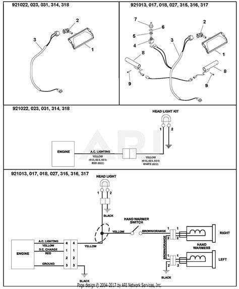 Ariens Deluxe Parts Diagram For