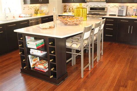 kitchen table wine storage kitchen island design tips midcityeast