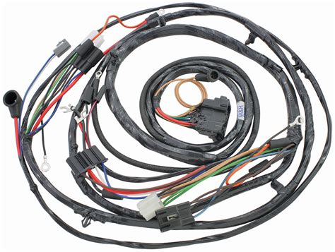 1971 Monte Carlo Wiring Harnes by M H 1971 Monte Carlo Forward L Harness V8 With Gauges