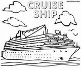 Ship Coloring Pages Printable Drawing Ships Titanic Britannic Cruise Sheet Sheets Disney Pirate Getcolorings Getdrawings Unique sketch template