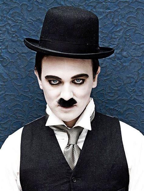 black  white film charlie chaplin costume  love sexy spooky halloween  bootights www