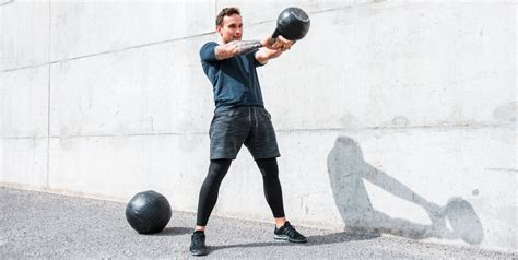 kettlebell circuit workouts cyclists outdoors training