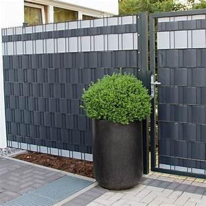 Sichtschutz Für Doppelstabmattenzaun : 3 23 m sichtschutz streifen blickdicht pvc zaun ~ Michelbontemps.com Haus und Dekorationen