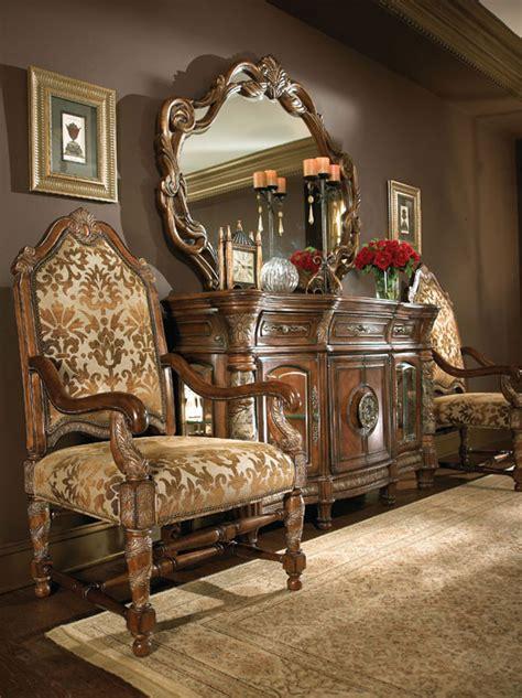 villa valencia dining set by aico aico dining room furniture