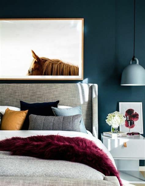chambre bleu et davaus chambre bleu petrole et gris avec des idées