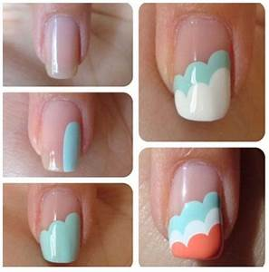 Nail Art Designs Step By Step At Home For Beginners ...