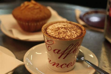 cuisine cappuccino cafe cake coffee food image 228923 on favim com