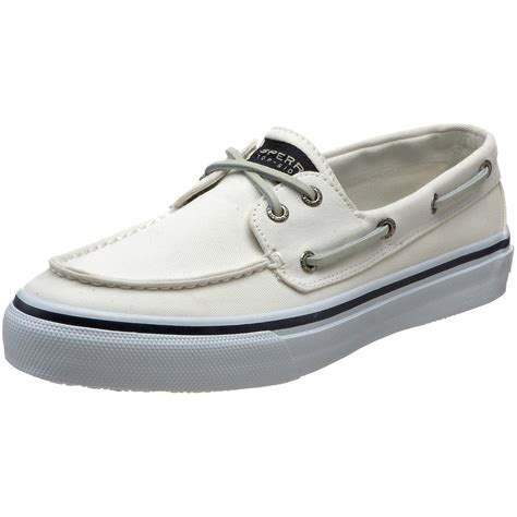 White Boat Shoes by Sperry Top Sider Bahama 2eye Boat Shoe In White For Men Lyst