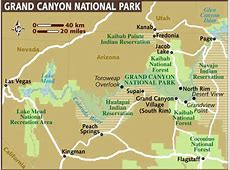 images and places pictures and info grand canyon map