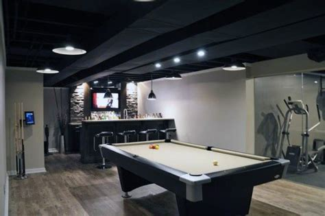 top   basement ceiling ideas downstairs finishing