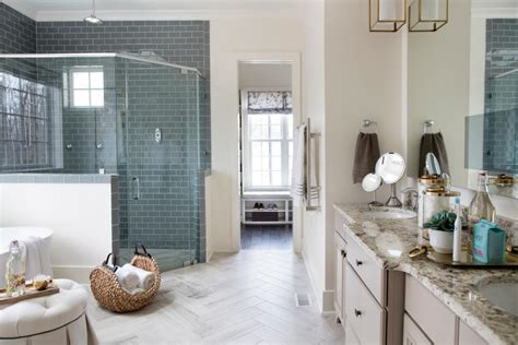 bathroom and closet designs pictures of the hgtv smart home 2016 master bathroom