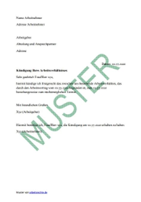 arbeitsrecht  muster vorlagen und  zum