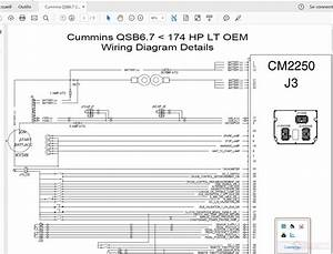 Cummins Qsb6 7 Cm2250 J3 Wiring Diagram Details