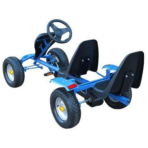 go kart anhänger der go kart blau zweisitzer mit anh 228 nger shop