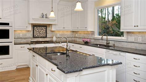 Cost Of Kitchen Backsplash by Polished Blue Pearl Granite Countertops Kitchen Granite