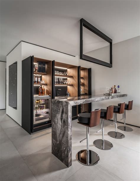Contemporary Home Bar by 20 Glorious Contemporary Home Bar Designs You Ll Go For