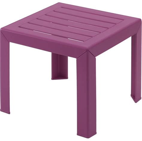 table de jardin intermarche lot 42 tables basses fuchsia en plastique miami grosfillex