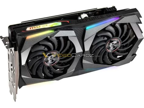 msi geforce gtx 1660 ti gaming and armor oc pictured videocardz