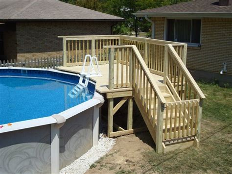 Diy Small Deck For Above Ground Pool