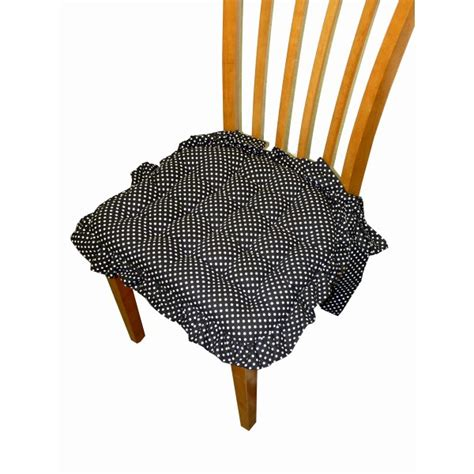 dining chair pad with ruffle and bow ties chair pads