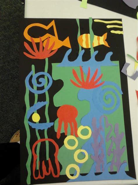 meet  masters henri matisse color art activity