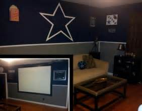 dallas cowboys theme bedroom paint job sports pinterest