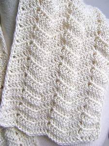 Lacy Crochet Scarf Pattern Easy Beginner By