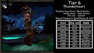 Druid Gear  Tier Sets From 1 To 10  U0026 Location Guide  World