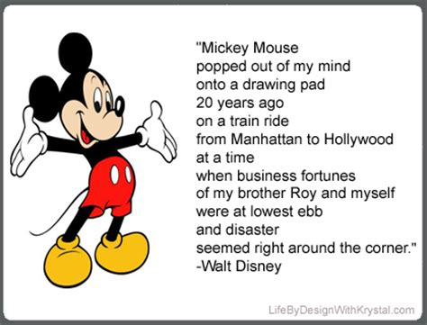 inspirational quotes by mickey mouse