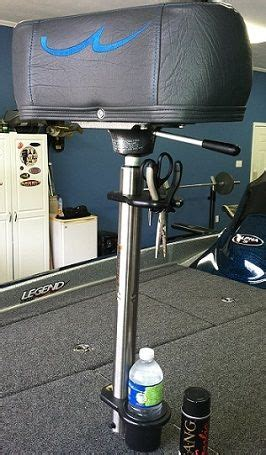 Seat Pedestal For Bass Boat by Cuda S Customs Cl On Holders For Bass Boat S Seat