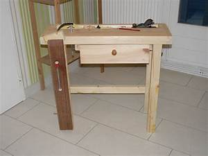Fabriquer Un établi : etabli pour enfant par dhn sur l 39 air du bois ~ Melissatoandfro.com Idées de Décoration