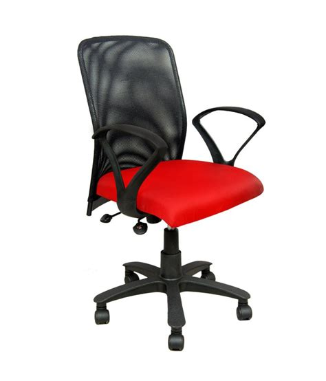 Nice Red Metal And Plastic Office Chair Best Price In