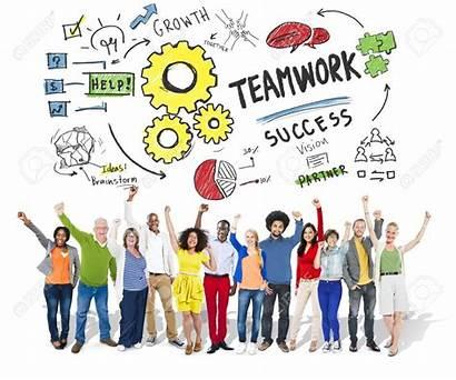 Team Success Teamwork Together Collaboration Celebration Trabajo
