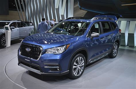 Subaru Officially Unveils 3row 2019 Ascent Suv Autodeal