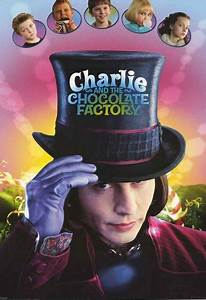 Charlie and the Chocolate Factory Movie Cast Poster 24x34 ...