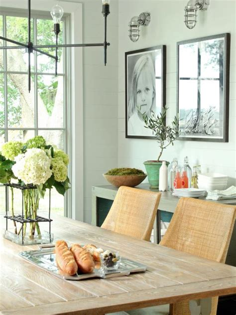 Decorate A Small Dining Room - 15 ways to dress up your dining room walls hgtv s