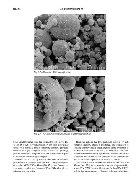 232.2 r 96 - use of fly ash in concrete