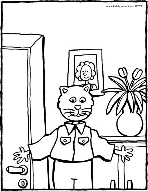 Feestneus Kleurplaat by Kleurplaten Voor Kinderen 7 Tot 9 Jaar Kiddi De