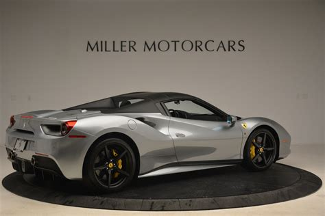 As for the 488 spider, the whole car was developed around the retractable hardtop. Pre-Owned 2018 Ferrari 488 Spider For Sale ($274,900) | Miller Motorcars Stock #4612
