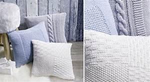 des housses de coussin a tricoter prima With meuble gain de place cuisine 13 les chaussons au point mousse prima