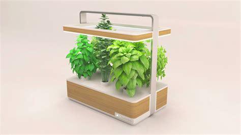 le led pour plante basile un nouveau potager high tech pour les urbains
