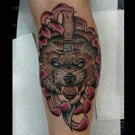 wolf head tattoo  tattoo ideas gallery