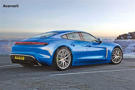 Porsche Picture by New 2020 Porsche Taycan Interior Revealed Pictures