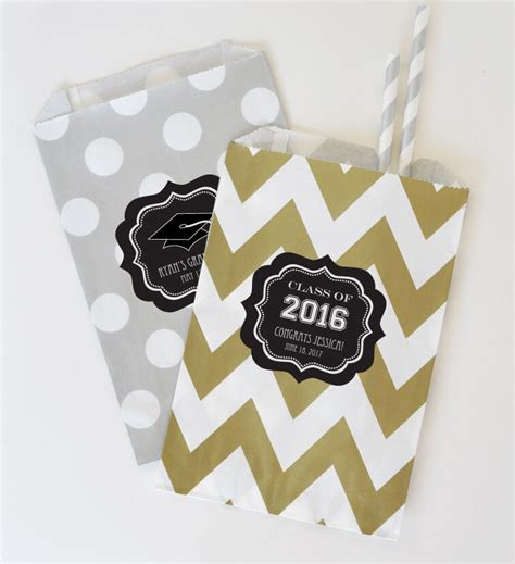 personalized graduation party goodie bags favor bags ebay