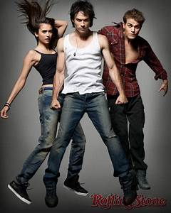 The Vampire Diaries Stars in Rolling Stone | TV Goodness
